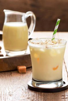 Classic eggnog meets Caramel Macchiato for a totally new spin on delicious. Just mix 1 cup eggnog with 1/4 cup International Delight Caramel Macchiato Creamer and garnish with nutmeg!   TIP: To make this recipe a boozy holiday cocktail, add 1 oz of rum.