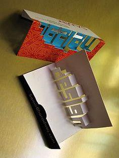 Pop-up Business Card