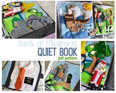 Book of Mormon Quiet Book PDF pattern