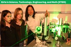 Girls in Science, Technology, Engineering, and Math (STEM)