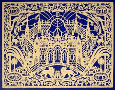 Psalm 122 – Look Upon Zion ∙ Jewish Papercuts ∙ R. MICHELSON GALLERIES