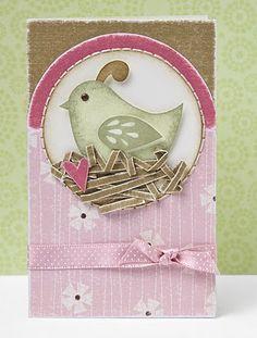 Adorable #DIY Easter card idea from #CTMH.