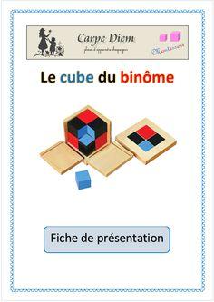Mathématiques - Le cube du binôme (Carpe Diem)