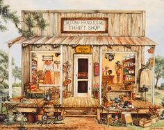 Second Hand Rose Thrift Shop ~ Kay Lamb Shannon