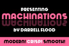 Machinations is a crisp and modern font, with curvy stylistic flair that makes it smooth and inviting. Perfect for advertising. Modern Fonts, Premium Fonts, All Fonts, Cricut Design, Improve Yourself, Creative, Crisp, Choices, Curvy
