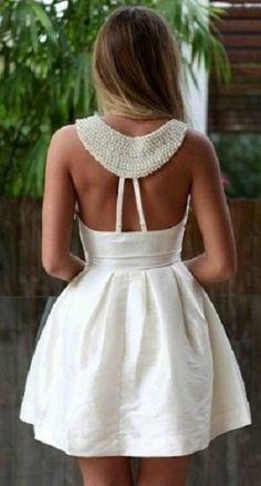 yakası incili beyaz elbise - Google'da Ara