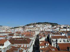 Lisbon; Castelo São Jorge on the background.