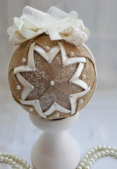 A beautiful Christmas ornament, made with lot of patience and love. Behind the delicate work of all my crafts there are feelings to be shown and stories to be told on cold winter nights. These ornaments are for those traditional families that know how to celebrate Christmas. The