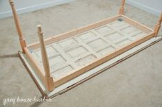 how to make a desk from an old door   greyhouseharbor.com