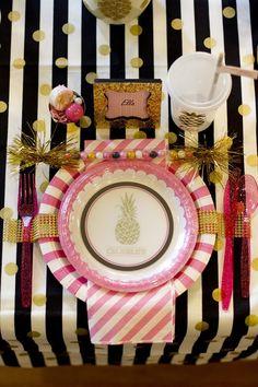 Anders Ruff Custom Designs, LLC: Pineapple Spa Party