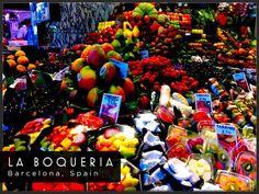 Barcelona Travel photo of La Boqueria - Attraction
