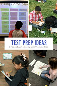 Looking for fun test prep can be difficult. Here are 5 fun and rigorous ways to use test prep with your students to make it more enjoyable for all. Reading Test, 3rd Grade Reading, Teaching Reading, Teaching Kids, Third Grade, Reading Centers, Close Reading, Reading Skills, Literacy Centers