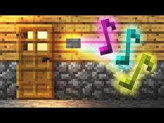 How To Build a Simple Doorbell! - Minecraft Tutorial - YouTube
