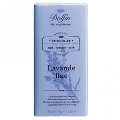 Dunkle Schokolade Noir Lavande Fine De Haute-Provence by Dolfin