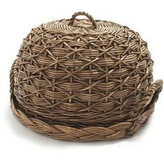 willow covered tray