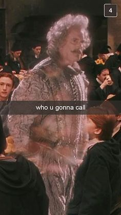I'm just imagining people whipping out their phones randomly at Hogwarts!