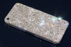 This is a beautiful fully customised iPhone 5 on a platinum frame inlaid with a vast array of Swarovski crystals Apple Iphone 5, Swarovski Crystals, Essentials, Electronics, Frame, Gold, Beautiful, Picture Frame, Frames