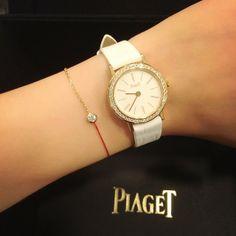Piaget #Altiplano #watch in white #gold set with 48 brilliant-cut #diamonds. Piaget 690P quartz #movement.