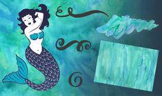 Watercolour-Textures-Decorative-Swirls-Mermaid-Vectors