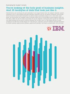 Hort illustrate the technical process involved with IBM software and transform it into an abstract, graphical language.