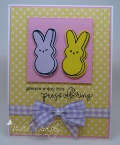 WT572 Peeps Offering vky by Vickie Y - Cards and Paper Crafts at Splitcoaststampers