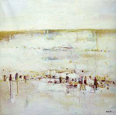 Abstrait 8 by Peintures de Gilles Cotelle, via Flickr #artiste #contemporain #contemporary #art