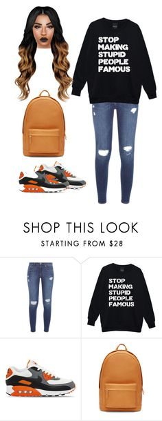 """Untitled #99"" by priscillay5 on Polyvore featuring Frame Denim, NIKE and PB 0110"