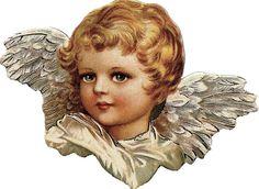 Victorian Scrap —  Angel (627x458)