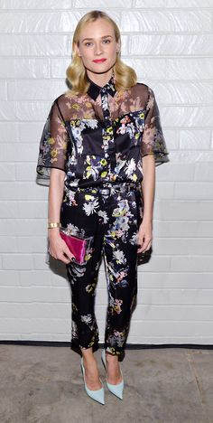 Spring Awakening! 25 Floral Outfits To Welcome The New Season via @WhoWhatWearUK