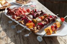 Villeroy & Boch BBQ Passion Talíř na špízy L Villeroy & Boch - LuxuryTable. Bbq, Food, Barbecue, Barbecue Pit, Meals, Yemek, Eten