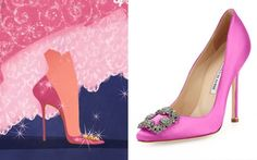 MI BLOG DE MODA CHIC: ZAPATOS  PRINCESAS DISNEYS REDISEÑADOS