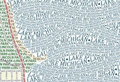 Infographic of the Day: City Maps Made Only of Typefaces | Co.Design: business + innovation + design