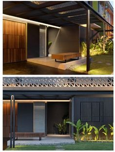 Design Strategy, Modern Spaces, Modern House Design, Home Projects, Facade, Lights, Warm, Contemporary, Studio