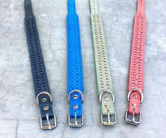 www.Vagabond-Dogs.com  We design & fabricate all our own dog accessories!  Pure California coolness.  We're really proud of our first collection. Thes are from CHELSEA line which features the finest quality leather with a detailed monochromatic design.   Please visit our new website and let us know your thoughts.  TED NEMETH