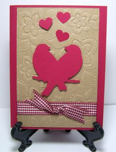 Love Birds  You Make My Heart Sing  by ForgetMeNotMemories on Etsy, $3.50