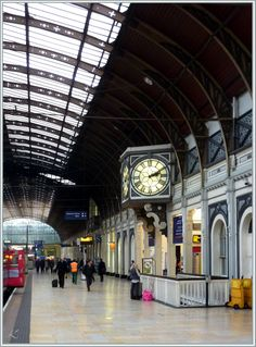 Paddington Station, London, UK.