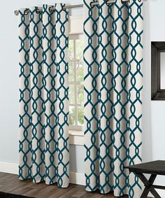 Another great find on #zulily! Teal Kochi Thermal Grommet Panel Pair - Set of Two #zulilyfinds