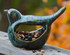 Red and the Peanut: How to make your own ceramic pottery bird feeder out of clay!