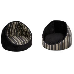 Midwest Homes For Pets Quiet Time Cabana Reversible Stripes Bolster Dog Bed…