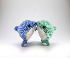 Pearl might not be the sleekest or fastest dolphin around, but she sure is cute! Like her friend Chum the Shark, Pearl is a fun and simple critter that can be made in just a few hours without using too much yarn. This pattern is 9 pages long, filled with step-by-step photos and all the instructions you'll need to make your own Pearl (or a few)!
