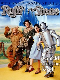 The cast of 'Seinfeld' dressed as characters from 'The Wizard of Oz' on the May 28, 1998 cover.
