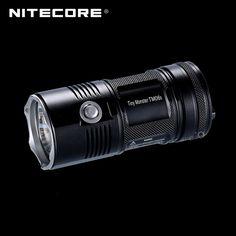 Tiny Monster Nitecore TM06S 4000 Lumens CREE XM-L2 U3 LED Searchlight Flashlight