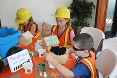 construction party, trucks, building Birthday Party Ideas   Photo 1 of 15   Catch My Party