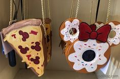 Danielle Nicole Mickey Donut and Pizza Handbags in Magic Kingdom - Spotted! Danielle Nicole Mickey Donut and Pizza Handbags in Magic Kingdom Disney World Outfits, Cute Disney Outfits, Disney Inspired Outfits, Disney Fun, Disney Style, Disney Fashion, Cute Disney Stuff, Disney Snacks, Disney Recipes