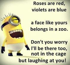 Most Funny Quotes : Top 40 Funniest Minions Pics and Memes - Quotes Boxes Funny Qoutes, Funny Relatable Memes, Cute Quotes, Funny Texts, Jokes Quotes, Funny Friendship Quotes, Funniest Quotes, Happy Friendship Day, Top Quotes