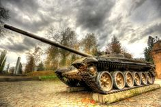Tank military museum Poznan