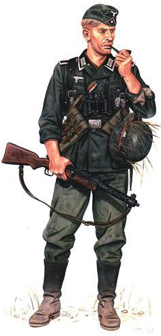WEHRMACHT - Unterfeldwebel (Panzerjager Bataillon) 73.Infanterie-Division, Caucasus, August 1942