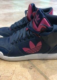 À vendre sur #vintedfrance ! http://www.vinted.fr/chaussures-femmes/baskets/27784402-baskets-montantes-adidas-en-cuir