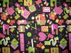 Sewing Fabric Print  x 1  Half yd  by Sheepinspiration on Etsy