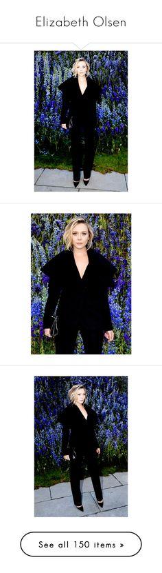 """Elizabeth Olsen"" by viveutvivas ❤ liked on Polyvore featuring elizabeth olsen, people, marvel, aaron johnson, chris evans, pictures, olsen, mark ruffalo and square pictures"